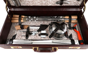 """Наборы для шашлыка в чемодане """"Турист-5"""""""